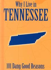 Cover of: Why I Live in Tennessee