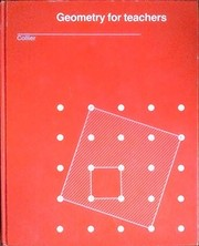 Cover of: Geometry for teachers | C. Patrick Collier
