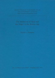 Cover of: The settlement of Sinai and the Negev in the Bronze Age