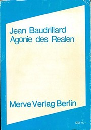 Cover of: Agonie des Realen