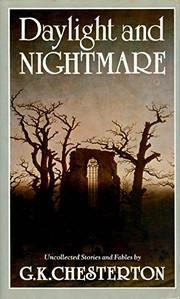 Cover of: Daylight and nightmare: uncollected stories and fables