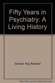 Cover of: Fifty years in psychiatry