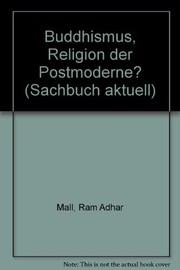 Cover of: Buddhismus, Religion der Postmoderne?