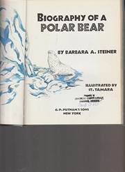 Cover of: Biography of a polar bear
