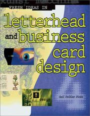 Cover of: Fresh Ideas in Letterhead and Business Card Design (Fresh Ideas, 4)