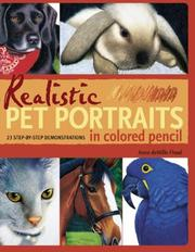 Cover of: Realistic Pet Portraits in Colored Pencil | Anne Demille Flood