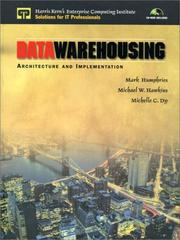 Cover of: Data Warehousing | Mark W. Humphries