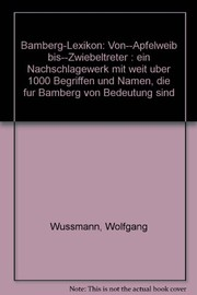Cover of: Bamberg-Lexikon
