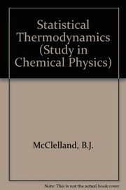 Cover of: Statistical thermodynamics
