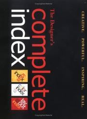 Cover of: The Designers Complete Index