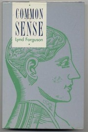 Cover of: Common sense | Lynd Forguson