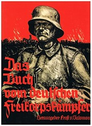 Cover of: Da Buch vom Deutschen Freikorpskampfer (The Book by German Free Corps Combatants)