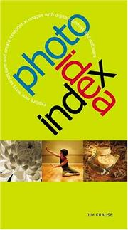 Cover of: Photo idea index
