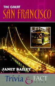 Cover of: The great San Francisco trivia & fact book