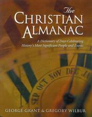 Cover of: The Christian almanac