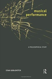 Cover of: Musical performance | Stan Godlovitch
