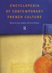 Cover of: Encyclopedia of contemporary French culture |