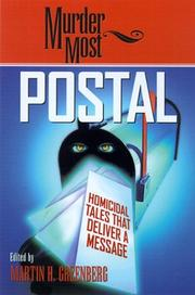 Cover of: Murder Most Postal: Homicidal Tales That Deliver a Message (Murder Most Series)