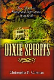 Cover of: Dixie Spirits