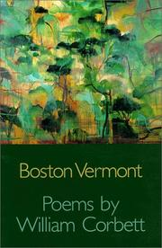 Cover of: Boston Vermont