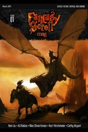 Cover of: Fantasy Scroll Magazine Issue #1