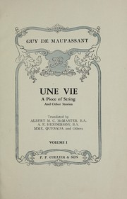Cover of: The works of Guy de Maupassant ... illustrated