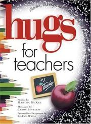 Cover of: Hugs for teachers