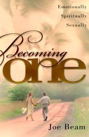 Cover of: Becoming One | Joe Beam