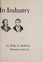 Cover of: Inventors in industry | Ruby Lorraine Radford