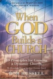 Cover of: When God Builds a Church | Rusty Russell