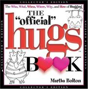 Cover of: The Official Hugs Book (Collector
