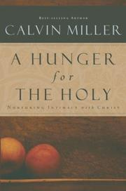 Cover of: Hunger for the Holy, A