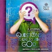 Cover of: Questions I'd like to ask God