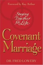 Cover of: Covenant marriage