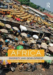 Cover of: Africa: Diversity and Development (Routledge Perspectives on Development)