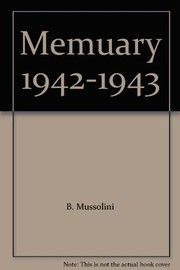 Cover of: Memuary, 1942-1943