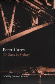 Cover of: 30 days in Sydney: a wildly distorted account