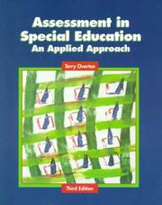 Assessment in Special Education by Terry Overton