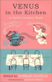 Cover of: Venus in the Kitchen: Or Love's Cookery Book