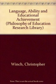 Cover of: Language, ability, and educational achievement