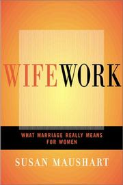 Cover of: Wifework | Susan Maushart