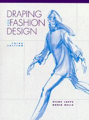 Draping for Fashion Design (3rd Edition) by Hilde Jaffe, Nurie Relis