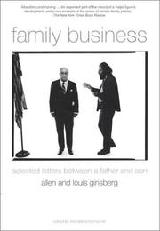 Cover of: Family Business: Selected Letters Between a Father and Son