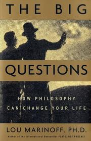 Cover of: The Big Questions | Lou Marinoff