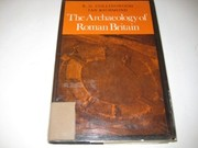 Cover of: The archaeology of Roman Britain