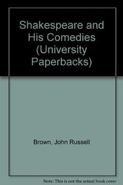 Cover of: Shakespeare and his comedies
