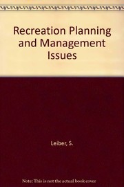 Cover of: Recreation planning and management |