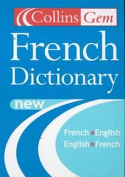 Cover of: Collins Gem Dictionary