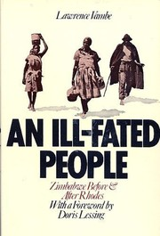Cover of: An ill-fated people: Zimbabwe before and after Rhodes
