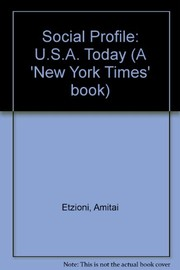 Cover of: Social Profile: U.S.A. Today
